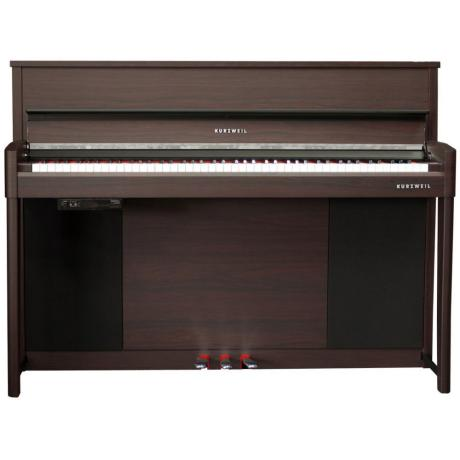 KURZWEIL UPRIGHT STYLE COMPACT PIANO ROSEWOOD