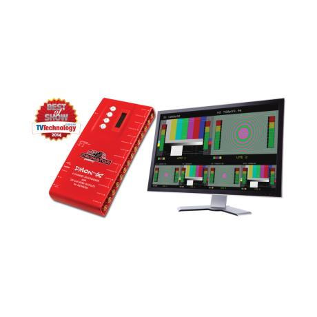 DECIMATOR DMON-6S Multiview 1 to 6 with SDI and HDMI outputs