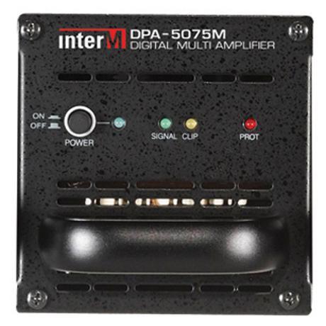 INTER-M ΤΕΛΙΚΟΣ ΕΝΙΣΧΥΤΗΣ 1Χ75W/100V MODULAR FOR DPA-5075M