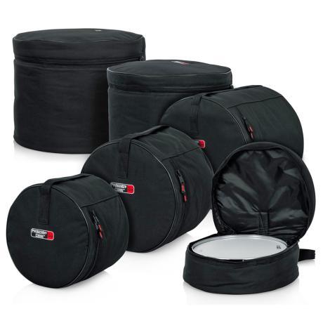 GATOR STANDARD DRUM SET BAGS 22''X18'', 12'' X10'',