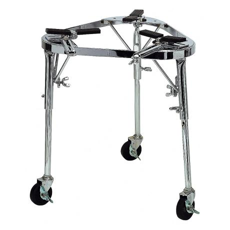 LATIN PERCUSSION Collapsible Cradle With  Legs and Wheels