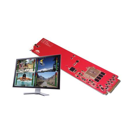 DECIMATOR 4 Channel Multi-viewer with SDI outputs for 3G/HD/