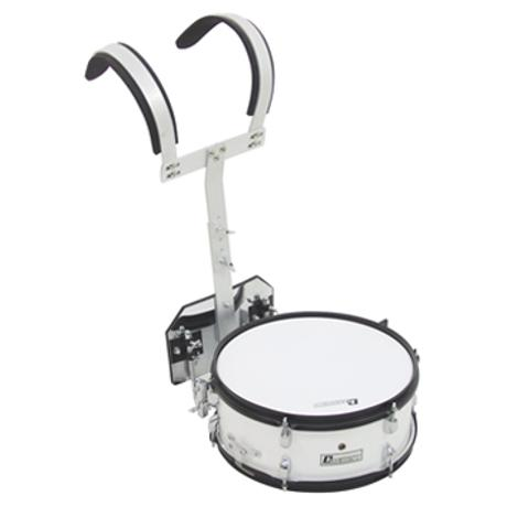 DIMAVERY MS-200 MARCHING SNARE WHITE