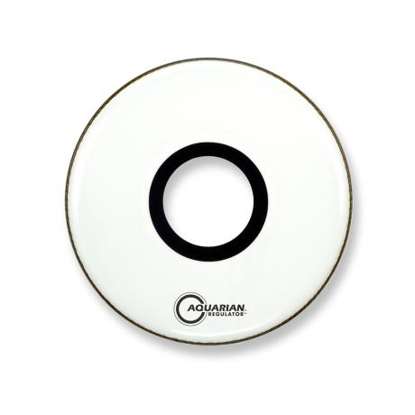 AQUARIAN 18'' FRONT LG HOLE W-RING WHITE