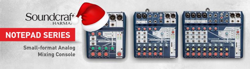 ANALOG MIXING + USB RECORDING