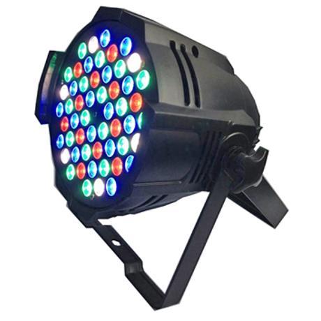 STARAY LED ΠΡΟΒΟΛΕΑΣ RGBW 54X3W BLACK IP 20
