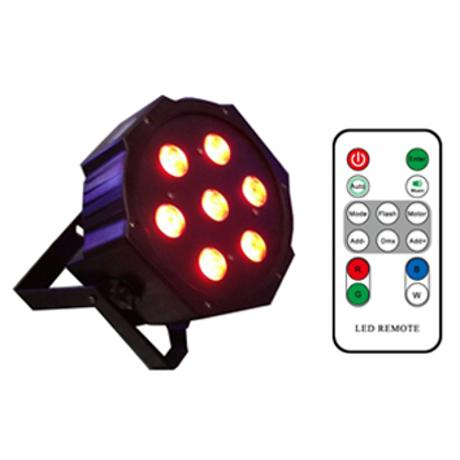 STARAY LED ΠΡΟΒΟΛΕΑΣ RGBW ΜΕ 7 LED ΚΟΙΝΟΥ ΠΟΜΠΟΥ 4W