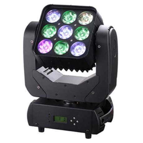 STARAY LED ΚΙΝΗΤΗ ΚΕΦΑΛΗ 4:1 RGBW 9X10W INDIVIDUALLY
