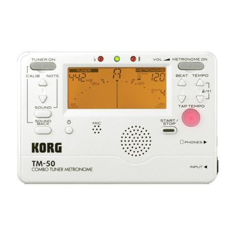 KORG DIGITAL TUNER/METRONOME WHITE