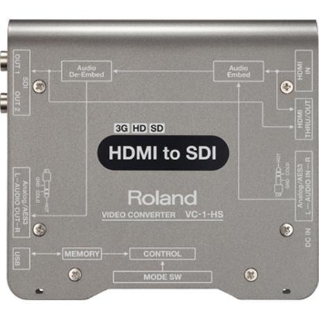 ROLAND HDMI TO SDI SD/HD/3G CONVERTER WITH EMB. AUDIO