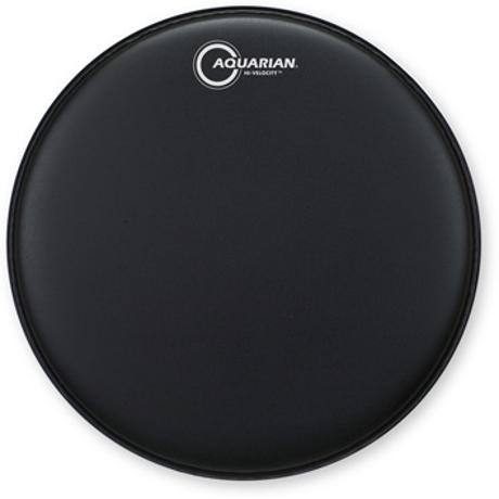 AQUARIAN HI-VELOCITY 14-INCH SNARE DRUM HEAD WITH DOT BLK