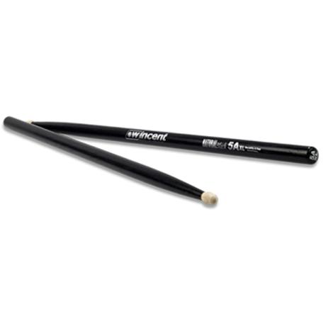WINCENT HICKORY DRUMSTICKS 5A XL NATURAL BLACK