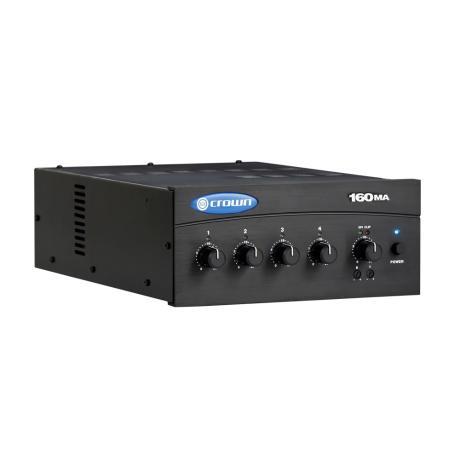 CROWN MIXER AMPLIFIER 4 INPUTS 60W 8Ω/100V 1 ZONE