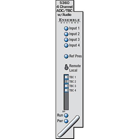 ENSEMBLE DESIGN Avenue Four Channel Analog to SD Digital Converter