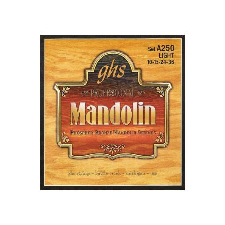 GHS ΣΕΤ ΧΟΡΔΕΣ PHOSPHOR BRONZE MANDOLIN 010-036