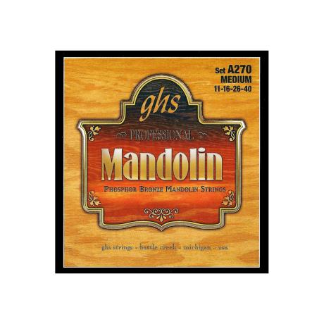 GHS ΣΕΤ ΧΟΡΔΕΣ PHOSPHOR BRONZE MANDOLIN 011-040
