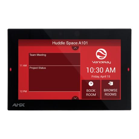 AMX 7'' Acendo Book Scheduling Touch Panel