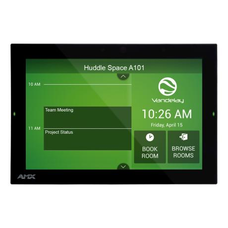 AMX 10.1'' Acendo Book Scheduling Touch Panel