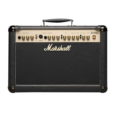 MARSHALL AS50D LTD ED BLACK ACOUSTIC AMPLIFIER