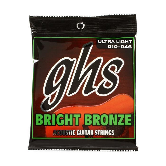 GHS ACOUSTIC GUITAR STRINGS 010-046