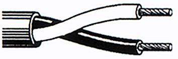 BELDEN SPEAKERS CABLE 2x2.5mm GRAY