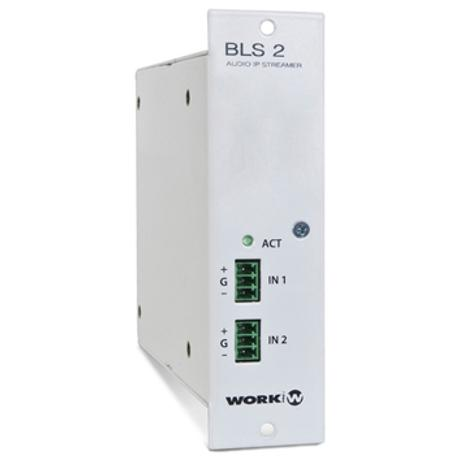 WORK MODULE WITH 2 X ETHERNET PORTS