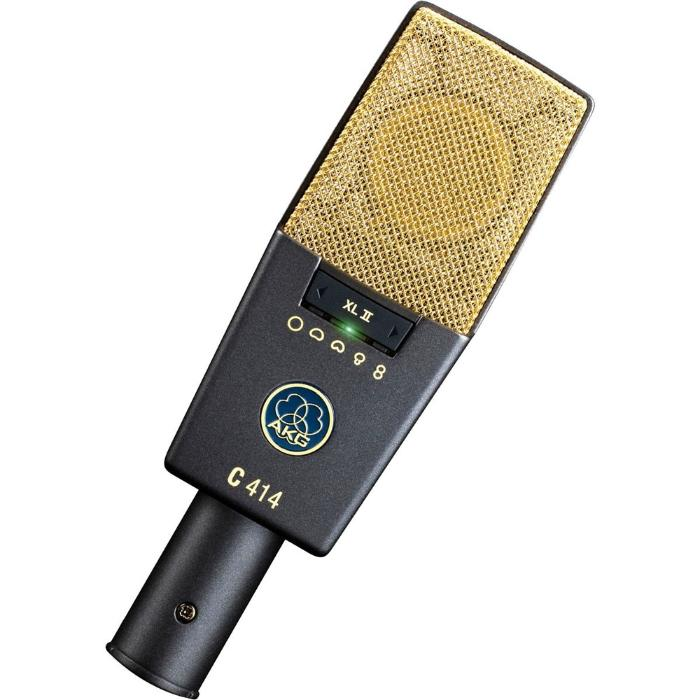 AKG REFERENCE MULTIPATTERN CONDENSER MICROPHONE