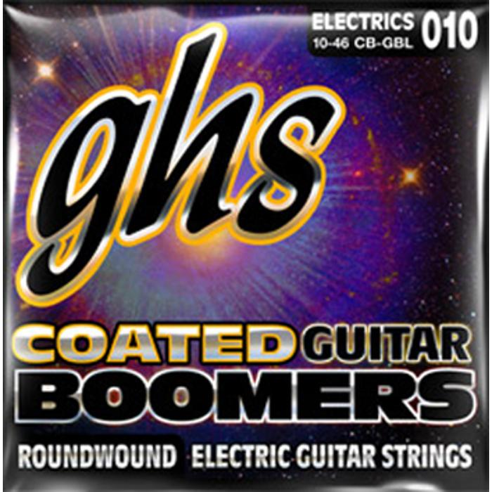 GHS ELECTRIC GUITAR STRINGS COATED BOOMER