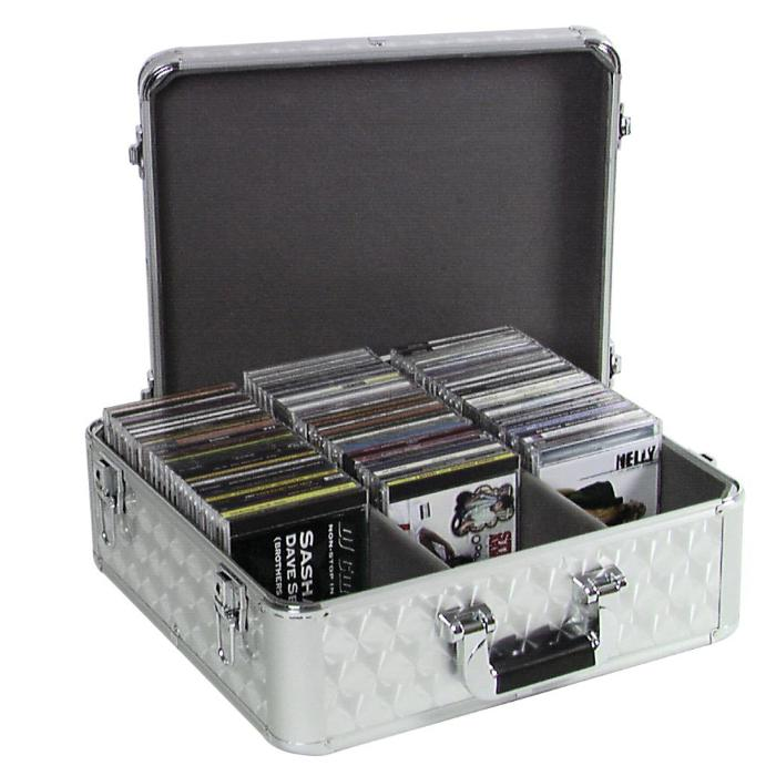 OMNITRONIC CARRYING CASE 100 CD-SILVER