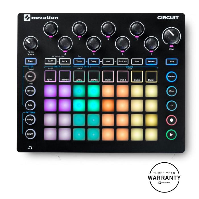 NOVATION GROOVE SYNTH MODULE-0