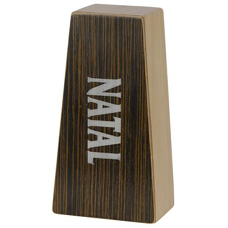 NATAL CAJON BONGOS NATURAL EBONY FACE SMALL