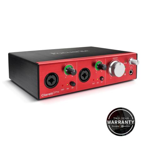 FOCUSRITE THUNDERBOLT  AUDIO MIDI INTERFACE