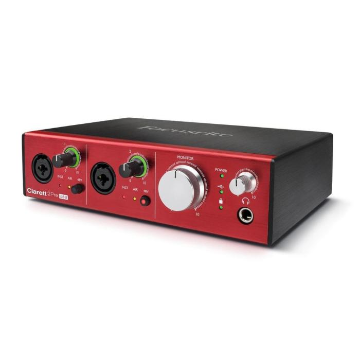 FOCUSRITE THUNDERBOLT  AUDIO MIDI INTERFACE-1