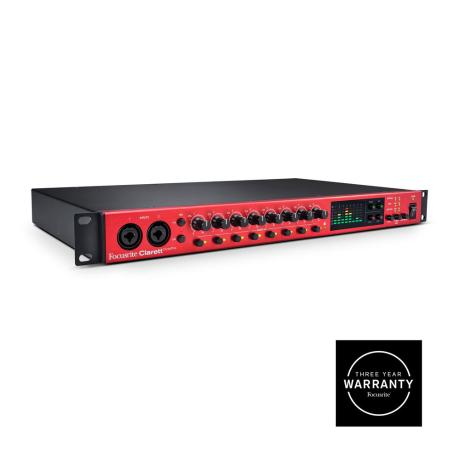 FOCUSRITE 8 I/O AUDIO INTERFACE