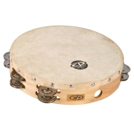 LATIN PERCUSSION CP WOOD HEADLESS DOUBLE ROW JINGLES 10''