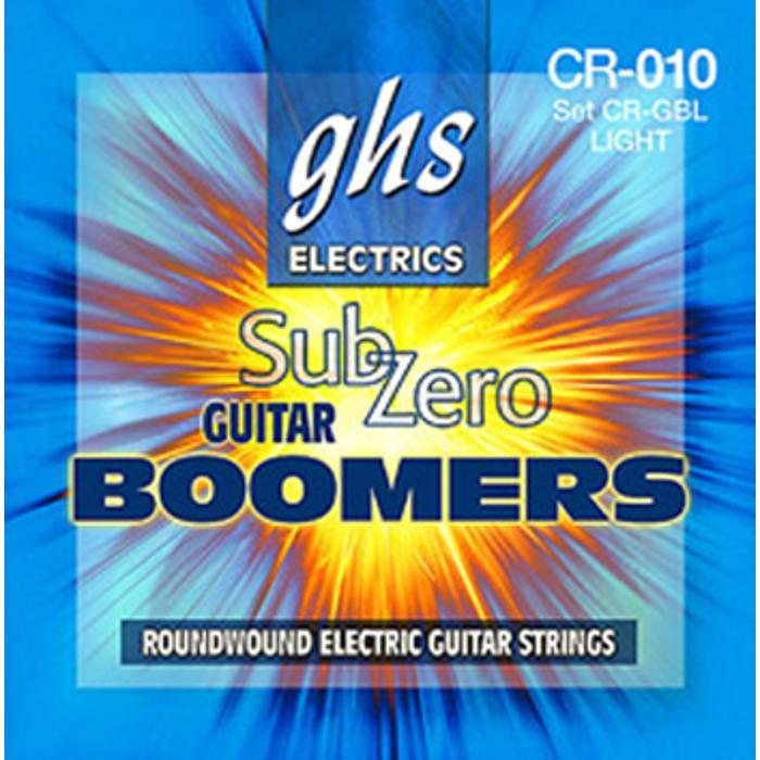 GHS ELECTRIC GUITAR STRINGS SUB-ZERO