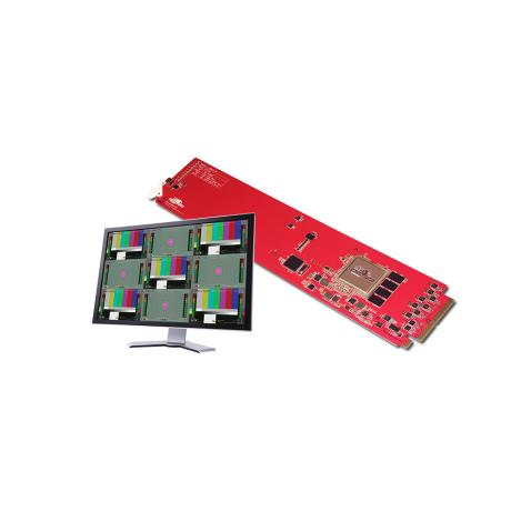 DECIMATOR Multiview card 9 x 3G/HD/SD-SDI to 3G/HD/SD-SDI