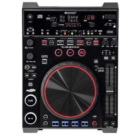 OMNITRONIC MEDIA PLAYER & MIDI CONTROLLER