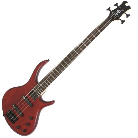 EPIPHONE TOBY DELUXE-IV BASS SATIN WALNUT