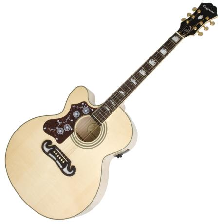 EPIPHONE ΗΛΕΚΤΡΑΚΟΥΣΤΙΚΗ LTD ED EJ200 SCE NATURAL LEFT HAND