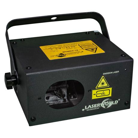 LASERWORLD DPSS RGB LASER SYSTEM with 230 mW power output