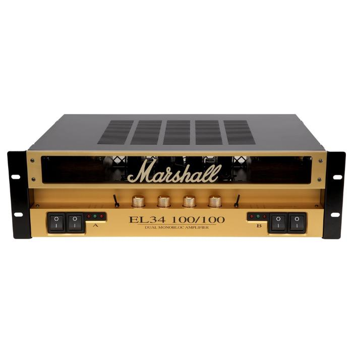 MARSHALL STEREO VALVE POWER AMPLIFIER 2x100W