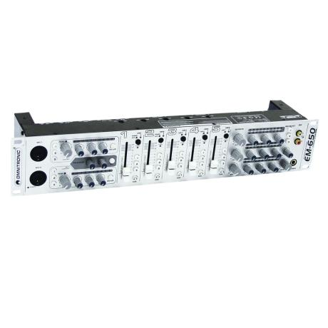 OMNITRONIC ZONE MIXER 5CH/2MIC/10IN/3OUT