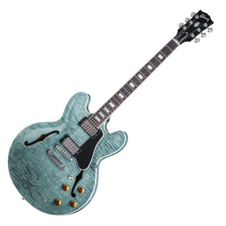 GIBSON ES-335 DOT 2016 FIGURED TOP TYRQUISE STAIN
