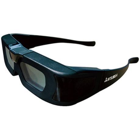 MITSUBISHI 3D GLASSES FOR HC7800 HOME THEATER PROJECTORS (BLACK)
