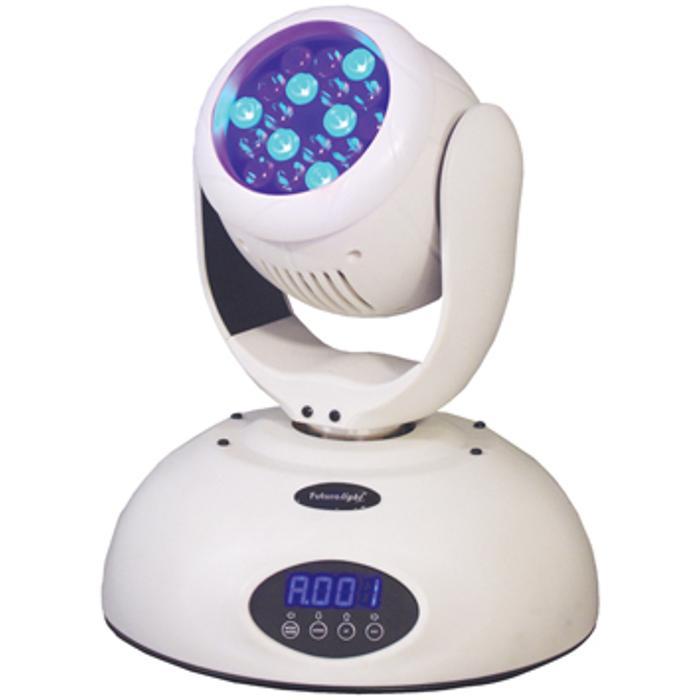 FUTURELIGHT LED WASH MOVING HEAD WITH 18 RGB LEDX1W