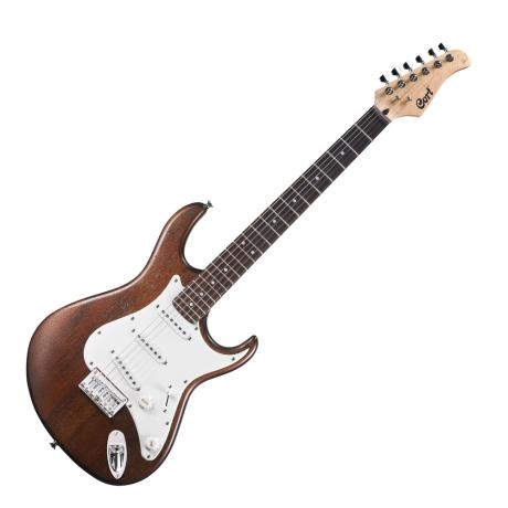 CORT ELECTRIC GUITAR G SERIES OPEN PORE WALNUT SINGLE COIL