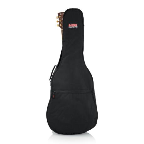 GATOR DREADNOUGHT GIG BAG W/BACKPACK STRAPS