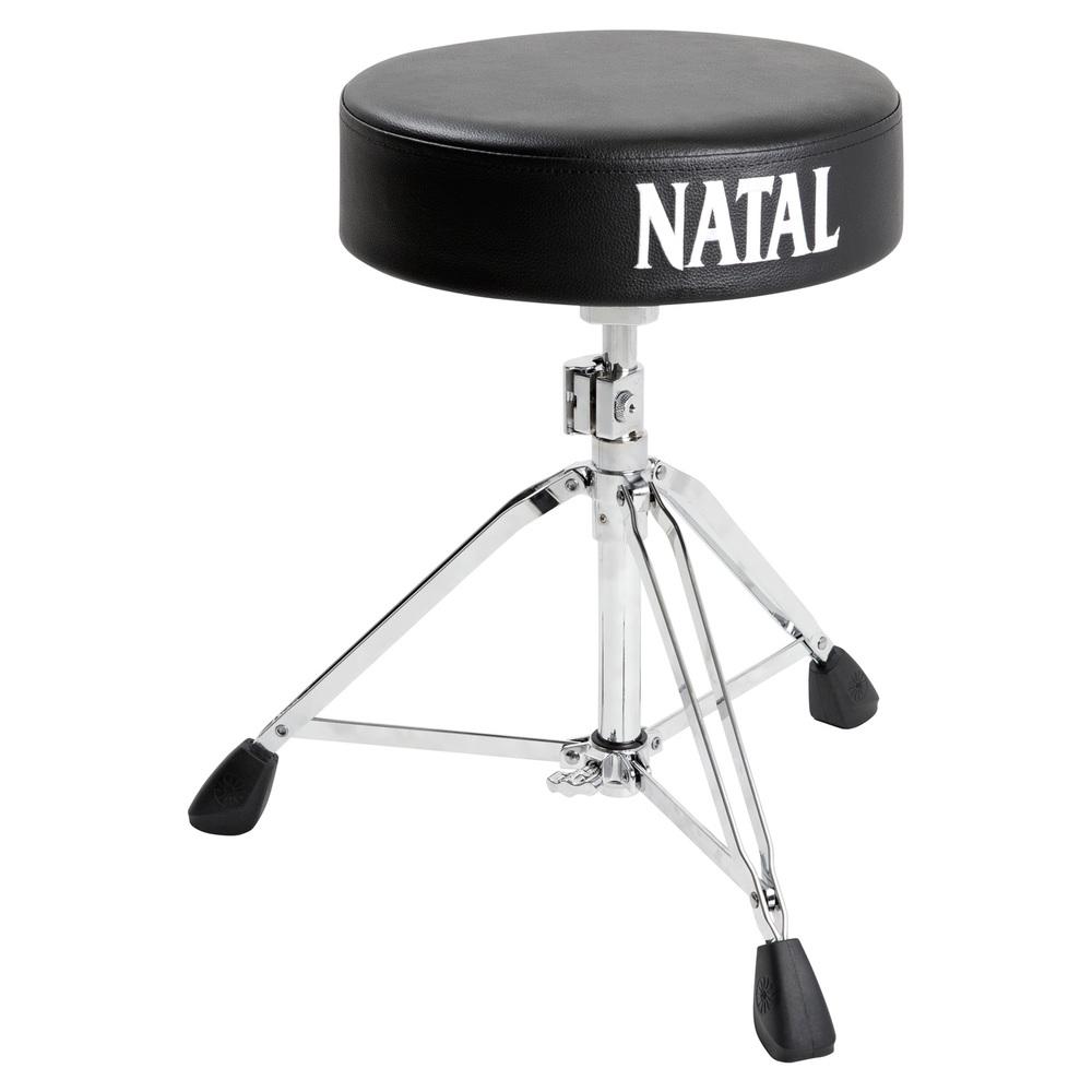 NATAL BLACK ROUND SEAT