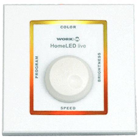 WORK ΕΠΙΤΟΙΧΟ ΧΕΙΡΙΣΤΗΡΙΟ RGB ΓΙΑ LED